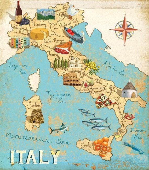 Italy Map - Italy map