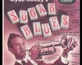 Clyde McCoy, Sugar Blues, The Original Wah-Wah Trumpet Music Vintage Vinyl Record Album, 1955 Capitol Jazz LP
