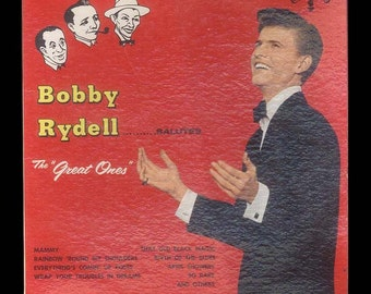 Vintage Vinyl Record Album - Bobby Rydell Salutes the Great Ones - 1961 Cameo LP Night Club Vocalist