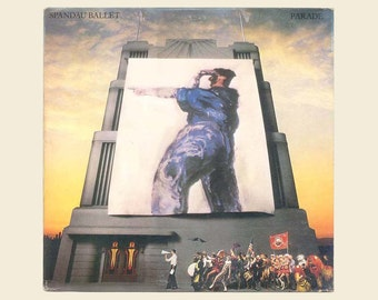 Vintage Record Album - Spandau Ballet, Parade, New Wave Music, New Romantic, Synth-Pop Vinyl LP