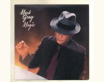 Mark Gray LP Record, Magic, 1984 Columbia Demo LP Country singer with a Bluesy Touch, Vintage Vinyl Record Album