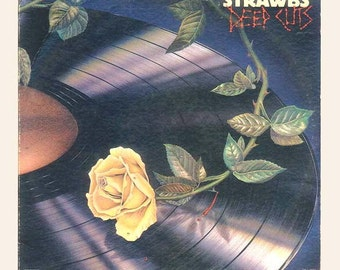 Vintage Record Album - Strawbs, Deep Cuts, David Cousins, Progressive Rock, Folk Rock Vinyl LP