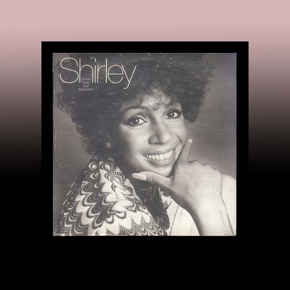 Shirley Bassey LP Record, Good, Bad, but Beautiful, Vintage Record Album , 1975 United Artists LP Vinyl