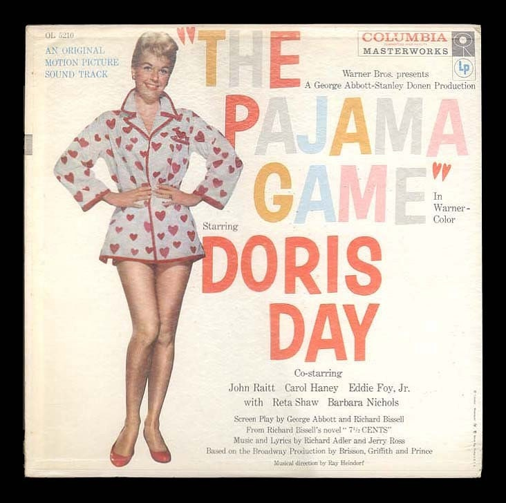 The Pajama Game Doris Day John Raitt Movie Soundtrack