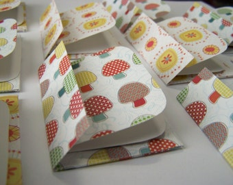 BUY 3 get 8 FREE- Mini Cards n Envelopes - Set of 10 - Recycled Paper