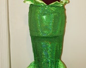 RESERVED for Angelfish326 - Adult Little Mermaid Fin Costume
