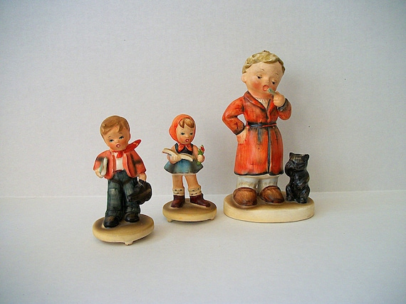 Vintage Instant Collection of German Style Figurines