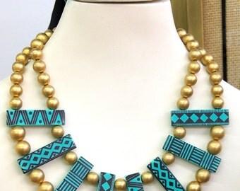 Guillemette L'Hoir Tribal Necklace
