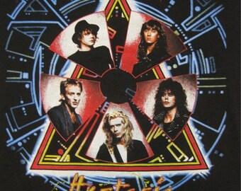 Original DEF LEPPARD vintage 1987 tour TSHIRT