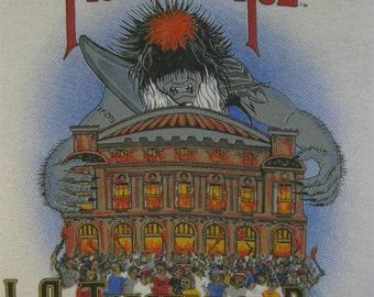 Original MOTLEY CRUE vintage 1985 tour TSHIRT jersey