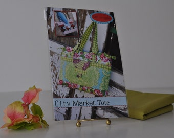 City Market Tote Sewing Pattern
