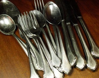 Popular items for stainless silverware on Etsy