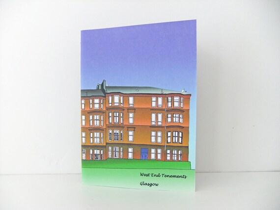 Glasgow Notebook / Glasgow journal, A5 Journal, Blank Notebook, Unlined Journal, Sketchbook, Travel Journal
