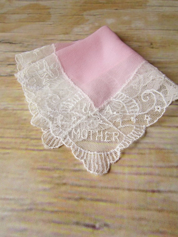 Antique Mother Hanky-U.S  Navy FREE Shipping