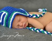 Vancouver Canucks Inspired Earflap hat