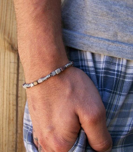His Crazy Horse Stone Bracelet Free Shipping US