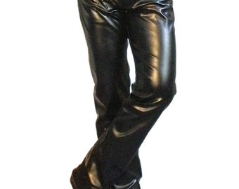 Chickasaw leatherette jeans