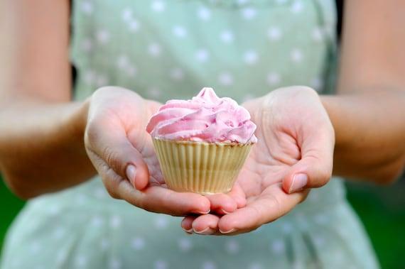 Pink Cupcake Soap