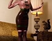 Hedy latex dress