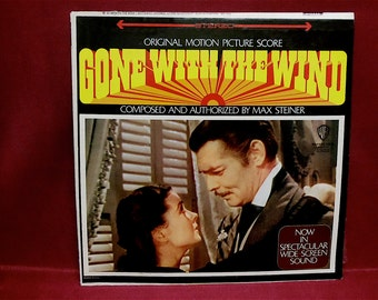 GONE WITH the WIND - Original Motion Picture Score - 1972 Vintage Vinyl Record Album