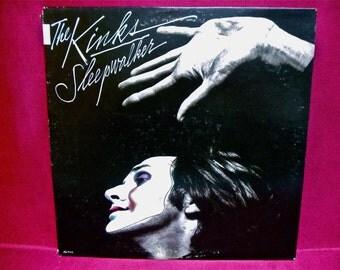 THE KINKS - Sleepwalker - 1977 Vintage Vinyl Record Album