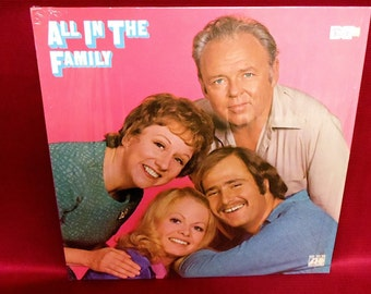 ALL in the FAMILY - 1971 Vintage Vinyl Record Album