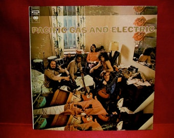 PACIFIC GAS And ELECTRIC - Pacific Gas and Electric - 1969 Vintage Vinyl Record Album