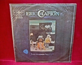 ERIC CLAPTON - No Reason to Cry - 1960s Vintage Vinyl Record Album...JAPANESE Pressing