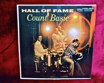 COUNT BASIE - Hall of Fame - 1956 Vintage Vinyl Lp Record Album
