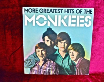The Monkees - More Greatest Hits of the Monkees - 1982 Vintage Vinyl Record Album