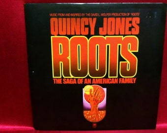 ROOTS - the Saga of an American Family - 1977 Vintage Vinyl Record Album