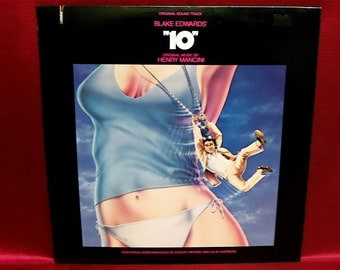 "The ""10"" Original Motion Picture Sound Track - 1979 Vintage PROMOTIONAL Copy Vinyl Record Album"