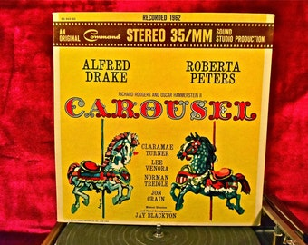 Rodgers and Hammerstein, II - CAROUSEL - Motion Picture Soundtrack - 1962 Vintage Vinyl GATEFOLD Record Album w/Insert