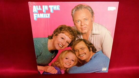 ALL in the FAMILY - 1971 Vintage Vinyl Record Album