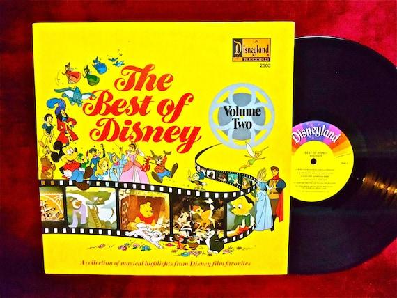 Walt Disney The Best Of Disney Vol 2 1977 Vintage Vinyl