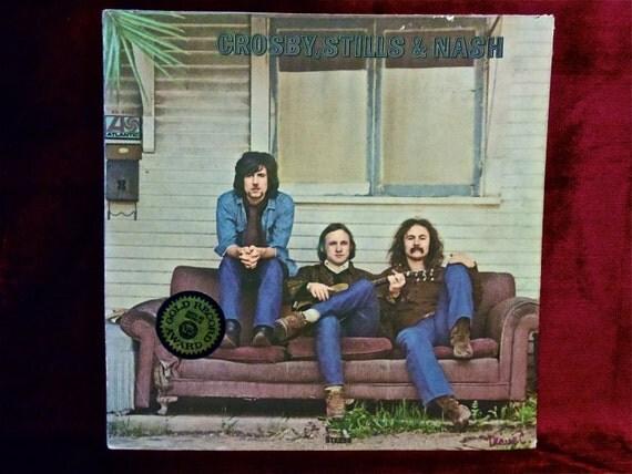 CROSBY, STILLS And YOUNG - Crosby, Stills and Nash - 1969 Vintage Vinyl GATEfold Record Album
