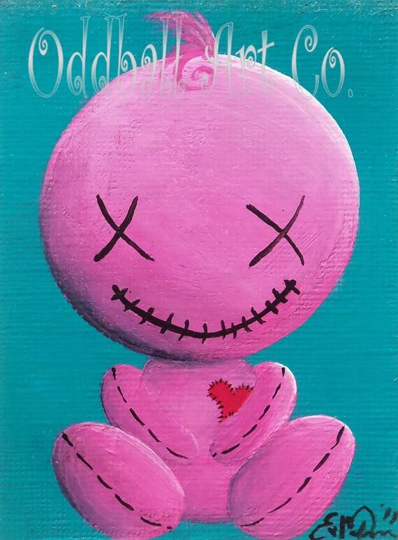 Cute Creepy Cartoons Bubblegum Goth Creepy Cute