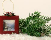 Picture Frame Christmas Tree Ornament K