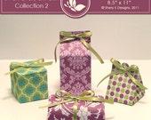 SVG & Printable Favors Gift Box Collection 2
