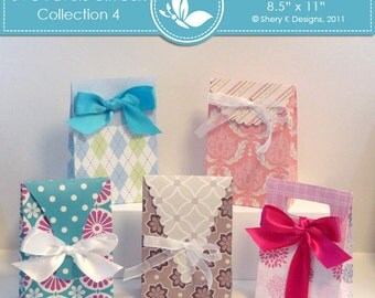 SVG Favors Gift Box Collection 4