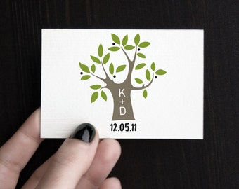 "Tree Wedding logo - ""Olive tree"""