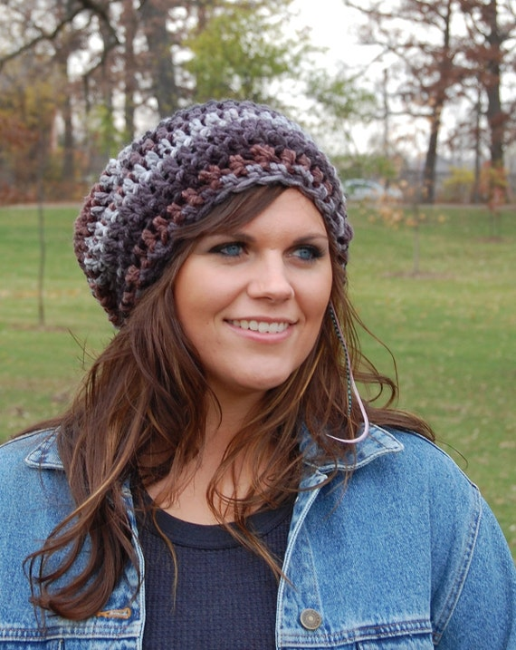 Slouchy Beanie Crochet Hats for Women, Ladies Fashion Hats, Winter Accessories