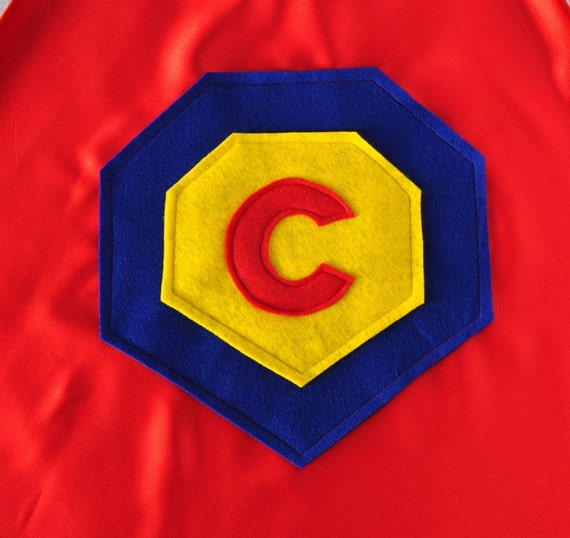 Superhero Cape Letter C
