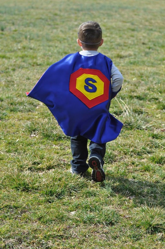 Kids Personalized Superhero Cape- Ages 3 to 6 years