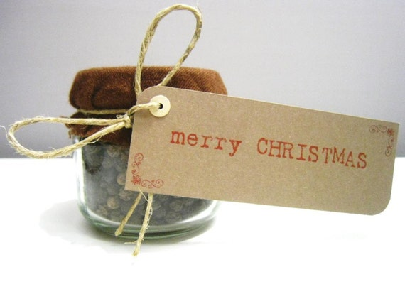 Items Similar To Merry Christmas Gift Tags