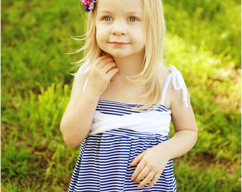 Ivy Sun Dress: Girls Dress Pattern, Baby & Toddler Dress Pattern, Instant Download PDF Sewing Pattern