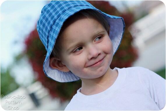 Reversible Bucket Hat: Bucket Hat Pattern, PDF Sewing Pattern