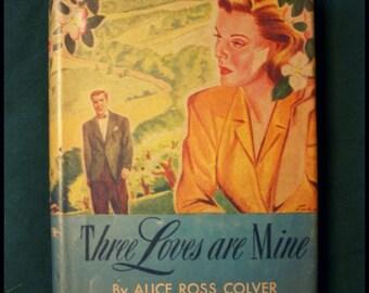 1946 Romance Novel Vintage Book