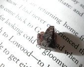 DESTASH Rough Almandine Garnet Specimen Stone / Small, Raw, Deep Merlot Red Black, Dark, Metaphysical Halloween Gift