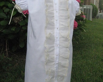 Vintage Style Baby Daygown